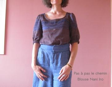 pasàpaslechemin blouse nani iro plis