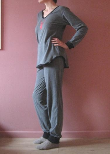 Pyjama ottobre côté