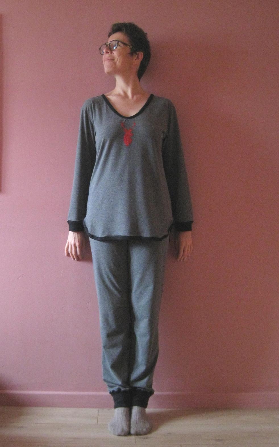 Pyjama ottobre devant